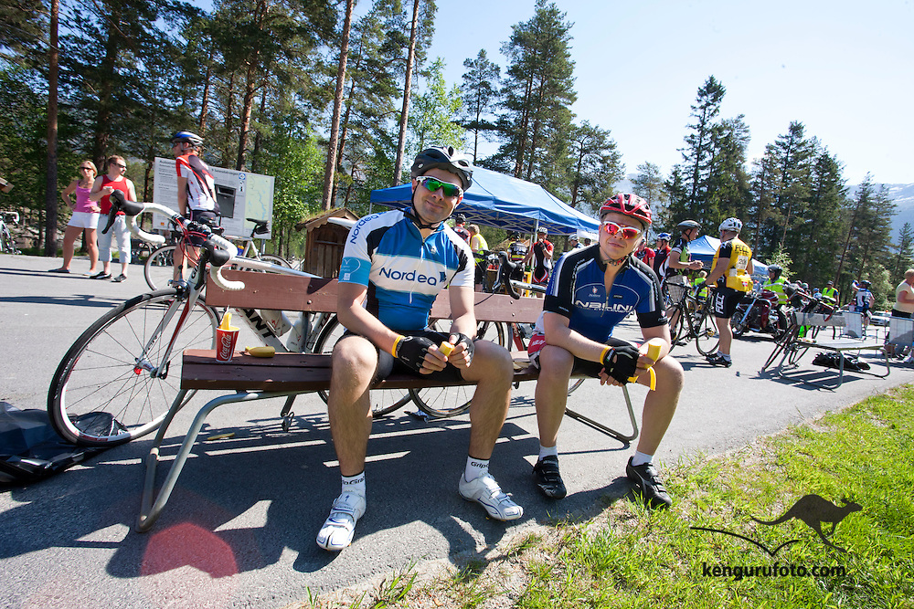 Bilder fra turittet Color Line Setesdal Tour 2012 som g&aring;r fra Kristiansand til Hovden gjennom Setesdalen.<br />