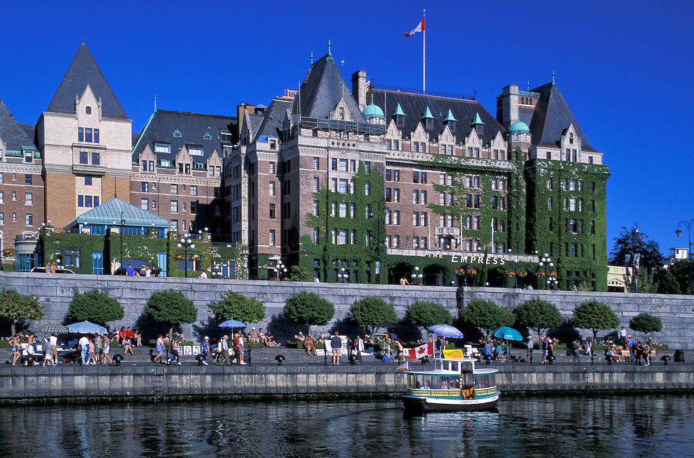 The Empress Hotel; Vancouver Island; British Columbia; Canada