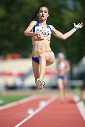 SMARAGDI Styliani, GRE, Long Jump, T46, 2013 IPC Athletics World Championships, Lyon, France