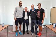 DESCRIZIONE: Berlino EuroBasket 2015 - Allenamento<br /> GIOCATORE: Luigi Datome Gianni Petrucci Simone Pianigiani Giorgio Paltrinieri<br /> CATEGORIA: Conferenza Stampa<br /> SQUADRA: Italia Italy<br /> EVENTO:  EuroBasket 2015 <br /> GARA: Berlino EuroBasket 2015 - Allenamento<br /> DATA: 04-09-2015<br /> SPORT: Pallacanestro<br /> AUTORE: Agenzia Ciamillo-Castoria/M.Longo<br /> GALLERIA: FIP Nazionali 2015<br /> FOTONOTIZIA: Berlino EuroBasket 2015 - Allenamento