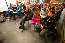 Captains' Meeting, 2015 IPC Snowboarding World Championships, La Molina, , Spain