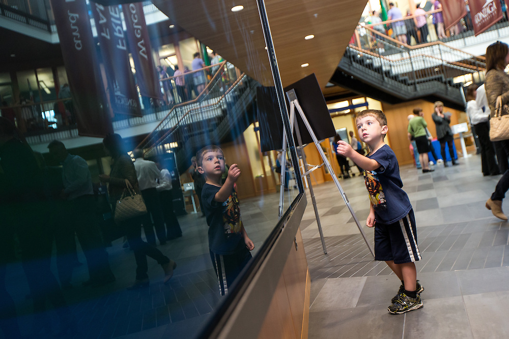 The Gonzaga Community came together for Zagapalooza to celebrate the Gonzaga Will campaign, the Hemmingson Center dedication and other festivities for an all-class reunion on October 16, 2015 (Photo by Ryan Sullivan)