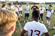 September 21, 2017: The Newman University Jets play against the Oklahoma Christian University Eagles on the campus of Oklahoma Christian University.