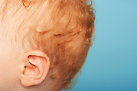 Redheaded Baby's Ear