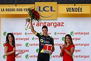 Sylvain Chavanel (FRA - Direct Energie) podium during the Tour de France 2018, Stage 2, Mouilleron-Saint-Germain - La Roche-sur-Yon (182,5 km) on July 8th, 2018 - Photo ............... / BettiniPhoto / ProSportsImages / DPPI