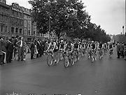 Start of Ras Tailteann at GPO.04/08/1957