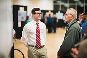 UW School of Medicine students present  research on Oct. 24. (GU photo by Gavin Doremus)