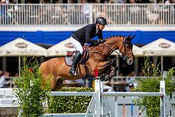 HOUTZAGER Marc (NED), Sterrehof's Calimero<br /> Hamburg - 90. Deutsches Spring- und Dressur Derby 2019<br /> LONGINES GLOBAL CHAMPIONS TOUR Grand Prix of Hamburg<br /> CSI5* Springprüfung mit Stechen <br /> Wertungsprüfung für die LGCT, 6. Etappe<br /> 01. Juni 2019<br /> © www.sportfotos-lafrentz.de/Stefan Lafrentz