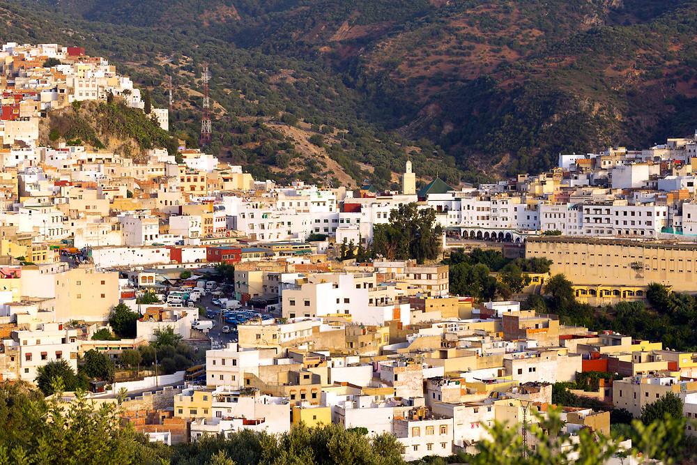 Moulay Idriss Zerhoun Medina, Middle Atlas, Morocco, 2016-06-14.<br />