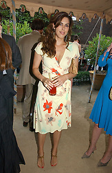 JESSICA DE ROTHSCHILD at the Tatler Summer Party 2006 in association with Fendi held at Home House, Portman Square, London W1 on 29th June 2006.<br />
