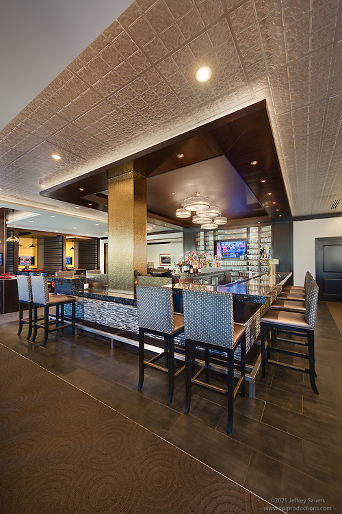 Interior image of Treesdale Golf and Country Club in Pittsburgh Pennsylvania by Jeffrey Sauers of Commercial Photographics, Architectural Photo Artistry in Washington DC, Virginia to Florida and PA to New England