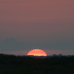 Sun Sets, Merritt Island National Wildlife Refuge, Titusville, Florida, US