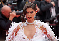 Sara Sampaio at the Solo: A Star Wars Story gala screening at the 71st Cannes Film Festival, Tuesday 15th May 2018, Cannes, France. Photo credit: Doreen Kennedy