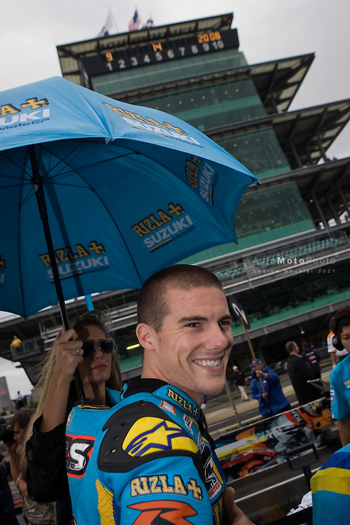 Round 14 of the 2008 MotoGP World Championship at the Indianapolis Motor Speedway, IN, September 12 - September 14, 2008<br /> ::Images shown are not post processed::Contact me for the full size file and required file format (tif/jpeg/psd etc) <br /> <br /> ::For anything other than editorial usage, releases are the responsibility of the end user and documentation/proof will be required prior to file delivery.
