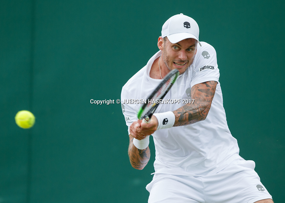 ANDREAS HAIDER-MAURER (AUT)<br /> <br /> Tennis - Wimbledon 2017 - Grand Slam ITF / ATP / WTA -  AELTC - London -  - Great Britain  - 3 July 2017.