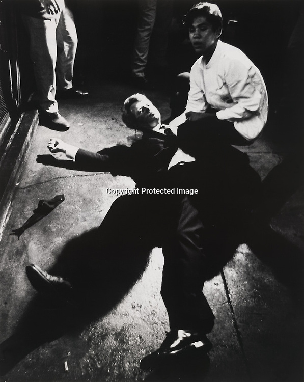 Photo by Boris Yaro. The Shooting of Robert F. Kennedy.