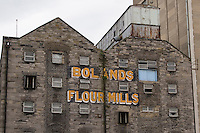 Bolands Flour Mills on Grand Canal docks in Dublin Ireland a historic 1916 rising location