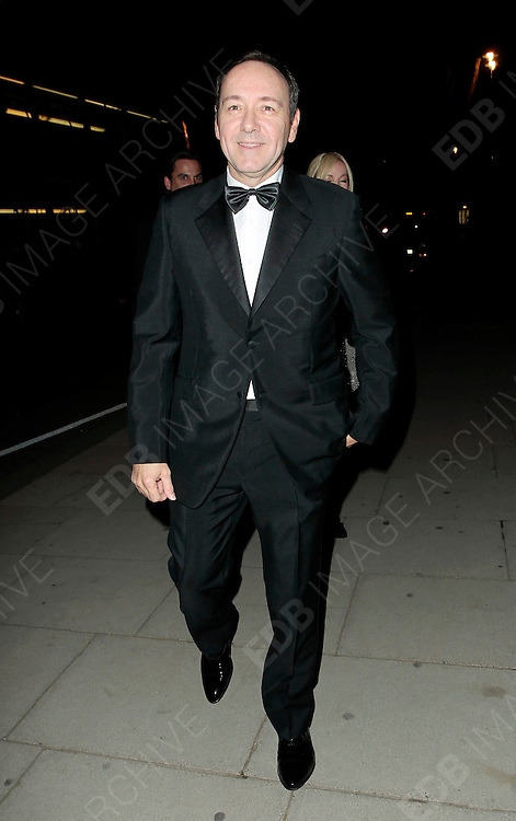 05.SEPTEMBER.2010. LONDON<br /> <br /> KEVIN SPACEY ATTENDS A PARTY TO CELEBRATE THE RECIVING OF BRITISH CITIZENSHIP FOR RUSSIAN NEWS PAPER MOGUL ALEXANDER LEBEDEV AT THE ROYAL COURTS OF JUSTICE IN THE STRAND.<br /> <br /> BYLINE: EDBIMAGEARCHIVE.COM<br /> <br /> *THIS IMAGE IS STRICTLY FOR UK NEWSPAPERS AND MAGAZINES ONLY*<br /> *FOR WORLD WIDE SALES AND WEB USE PLEASE CONTACT EDBIMAGEARCHIVE - 0208 954 5968*