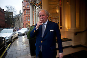GRAYDON CARTER; ;, Graydon and Anna Carter host a lunch for Carolina Herrera to celebrate the ipening of her new shop on Mount St. .The Connaught. London. 20 January 2010