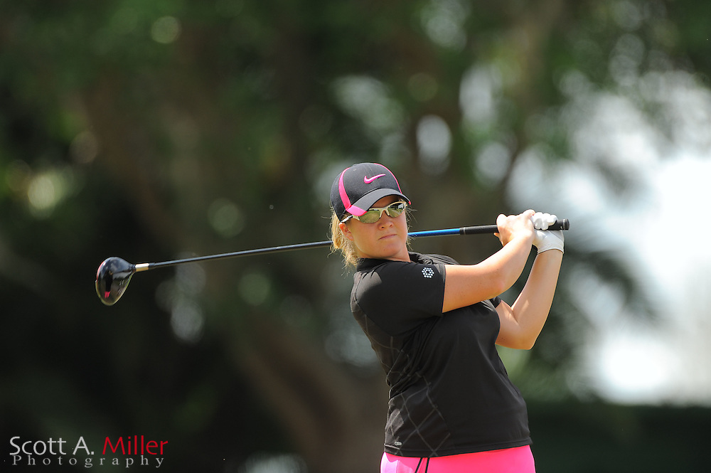 Brittany Kelly during the second round of the Symetra Tour's Florida's Natural Charity Classic at the Lake Region Yacht and Country Club on March 24, 2012 in Winter Haven, Fla. ..©2012 Scott A. Miller.
