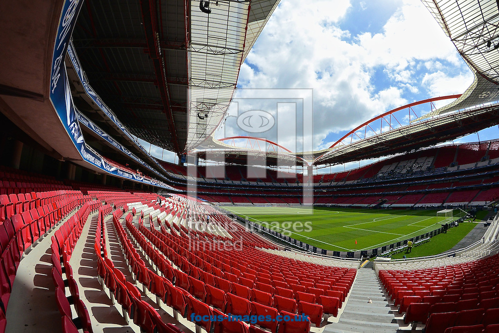 General Views of Est&aacute;dio da Luz, Lisbon<br /> Picture by Ian Wadkins/Focus Images Ltd +44 7877 568959<br /> 23/05/2014