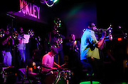 The New Sound Brass Band performing at The Blockley in Philadelphia, PA.