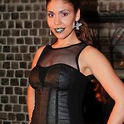 NLD/Amsterdam/20101130 - Presentatie sieradenlijn Grazielle Ferraro - Jeh Jewels, Hind Laroussa Tahiri