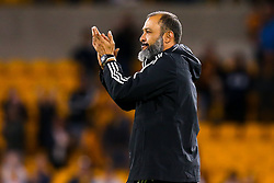 Wolverhampton Wanderers manager Nuno applauds the fans at full time - Mandatory by-line: Robbie Stephenson/JMP - 19/08/2019 - FOOTBALL - Molineux - Wolverhampton, England - Wolverhampton Wanderers v Manchester United - Premier League