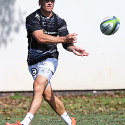 DURBAN, SOUTH AFRICA, January 18,2016 - Joe Pietersen during The Cell C Sharks Pre Season training for the 2016 Super Rugby Season at Growthpoint Kings Park in Durban, South Africa. (Photo by Steve Haag)<br /> images for social media must have consent from Steve Haag