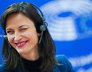 High-level roundtable on the audio-visual media and the challenge of the digital revolution, in the @europeanparliament <br /> Mariya GABRIEL, European Commissioner<br /> Photo : @dainalelardic .<br /> .<br /> .<br /> .<br /> @isopixbelgium  #picoftheday #photooftheday #belgie #belgium #belgique #politics @europeancommission #europe #smile #smiling
