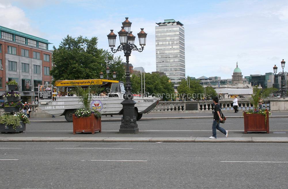 O'Connell bridge Dublin Ireland
