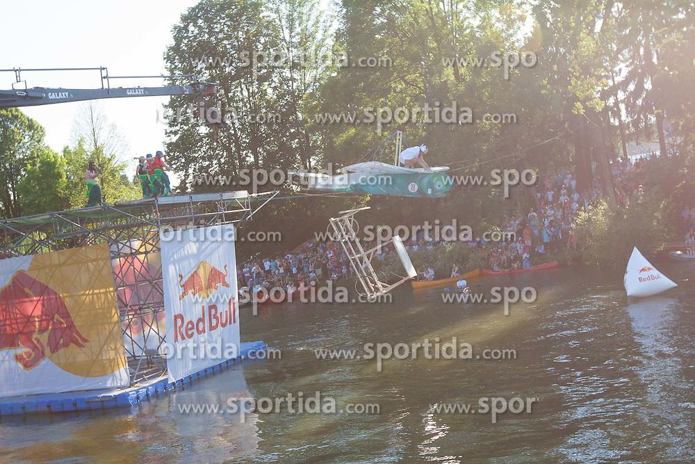 2. Red Bull Flugtag in Ljubljana at shoreline of river Ljubljanica , 16. June 2012 in Ljubjana, Slovenia (Photo by Grega Valancic / Sportida.com)