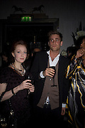 Olivia Grant and Oliver Jackson, Dom Perignon and Claudia Schiffer host a celebration of Dom Perignon Oenotheque 1995. The Landau, Portland Place. London W1. 26 February 2008.  *** Local Caption *** -DO NOT ARCHIVE-© Copyright Photograph by Dafydd Jones. 248 Clapham Rd. London SW9 0PZ. Tel 0207 820 0771. www.dafjones.com.