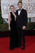 KIRSTEN DUNST + GARRETT HEDLUND @ the 73rd Annual Golden Globe awards held @ the Beverly Hilton hotel.<br /> ©Exclusivepix Media