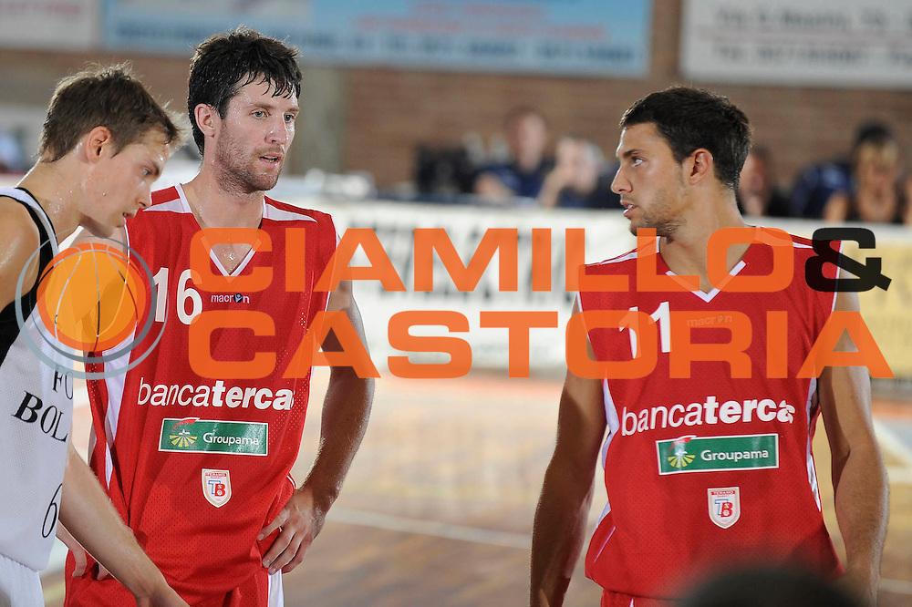 DESCRIZIONE : Castelfiorentino Lega A 2009-10 Basket Torneo V. Martini Virtus Bologna Bancatercas Teramo<br /> GIOCATORE : Drake Diener Tommaso Marino<br /> SQUADRA : Bancatercas Teramo<br /> EVENTO : Campionato Lega A 2009-2010 <br /> GARA : Virtus Bologna Bancatercas Teramo<br /> DATA : 12/09/2009<br /> CATEGORIA : ritratto<br /> SPORT : Pallacanestro <br /> AUTORE : Agenzia Ciamillo-Castoria/G.Ciamillo