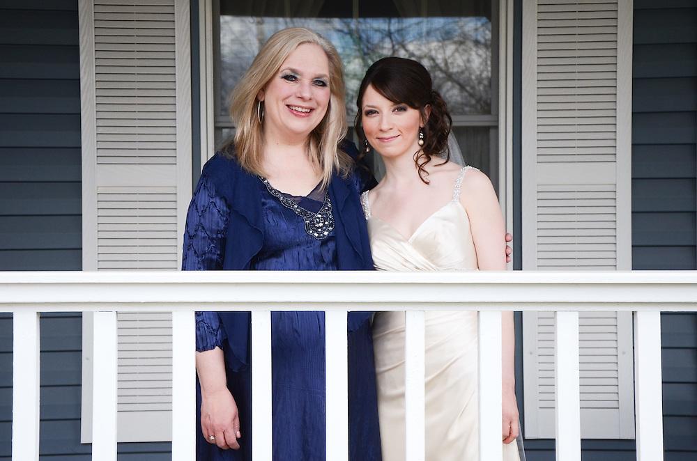 Kathleen & her mother, Schaumburg, IL