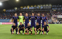 Players of Maribor before 2nd Leg Football match between NK Maribor (SLO) and Valur Reykjavík (ISL) in First qualifying round of UEFA Champions League 2019/20, on July 17, 2019, in Stadium Ljudski vrt, Maribor, Slovenia. Photo by Milos Vujinovic / Sportida