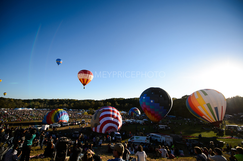 October 18, 2015: Carolina Balloon Festival