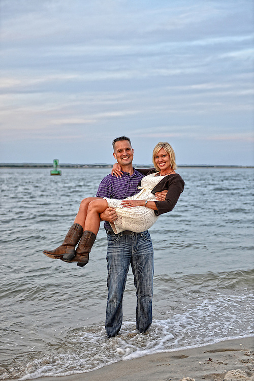 Ric and Rebecca Engagement | NC Beach Photographers