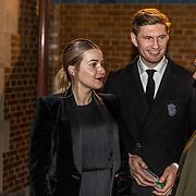 NLD/Amsterdam/20170119 - Premiere Brussel, Evgeny Levchenko en partner Victoria Koblenko