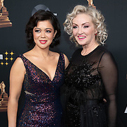 NLD/Amsterdam/20200122 - Musical Award Gala 2020, Lone van Roosendaal en Cystine Carreon