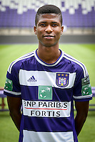 Anderlecht's Ibrahima Conte pictured during the 2015-2016 season photo shoot of Belgian first league soccer team RSC Anderlecht, Tuesday 14 July 2015 in Brussels.