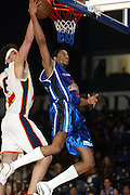 29th June 2002 at the Queens Wharf Events Centre in Wellington. Wellington Saints Kevin Brooks lays up a shot during their game against Palmerston North Jets.<br />Pic: Sandra Teddy/Photosport<br />*digital image*