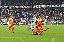 November 5, 2017 - Turin, Italy - Alberto Brignoli (Benevento Calcio) during the Serie A football match between Juventus FC and Benevento Calcio on 05 November 2017 at Allianz Stadium in Turin, Italy. (Credit Image: © Massimiliano Ferraro/NurPhoto via ZUMA Press)