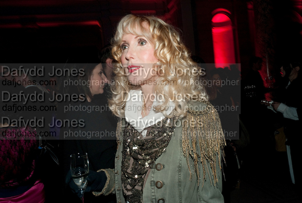 BASIA BRIGGS, Yohji Yamamoto exhibition opening. V & A Museum. London. 10 March 2011. -DO NOT ARCHIVE-© Copyright Photograph by Dafydd Jones. 248 Clapham Rd. London SW9 0PZ. Tel 0207 820 0771. www.dafjones.com.