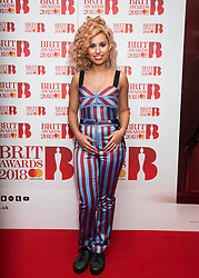 EDITORIAL USE ONLY XXXX Raye attending the Brit Awards 2018 Nominations event held at ITV Studios on Southbank, London. Photo credit should read: David Jensen/EMPICS Entertainment