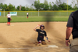 16  May  2019:   Le Roy Panthers v Heyworth Hornets  IHSA Class 1A Softball Regional Final at Centennial Park in Heyworth IL<br /> <br /> 6 DeFries