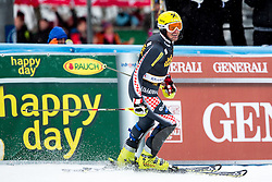 Winner KOSTELIC Ivica  of Croatia during the 2nd Run of Men's Slalom - Pokal Vitranc 2013 of FIS Alpine Ski World Cup 2012/2013, on March 10, 2013 in Vitranc, Kranjska Gora, Slovenia.  (Photo By Matic Klansek Velej / Sportida.com)