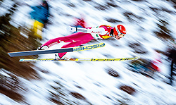17.12.2016, Nordische Arena, Ramsau, AUT, FIS Weltcup Nordische Kombination, Skisprung, im Bild Eric Frenzel (GER) // Eric Frenzel of Germany during Skijumping Competition of FIS Nordic Combined World Cup, at the Nordic Arena in Ramsau, Austria on 2016/12/17. EXPA Pictures © 2016, PhotoCredit: EXPA/ JFK