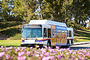 OCTA Bus At Saddleback College In Mission Viejo